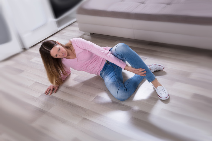 What to do if you slip & fall
